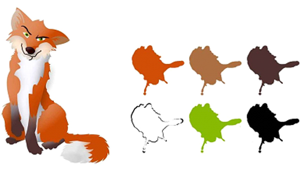 Fox Colour Palette