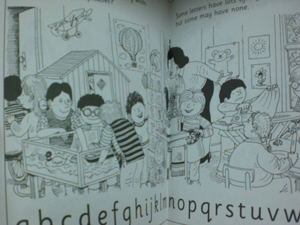 Colouring story books